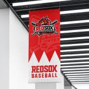 Baseball Logo Design für die Red Sox Unterwurmbach, Baseball in Gunzenhausen, in der Nähe von Ansbach und Nürnberg, Franken